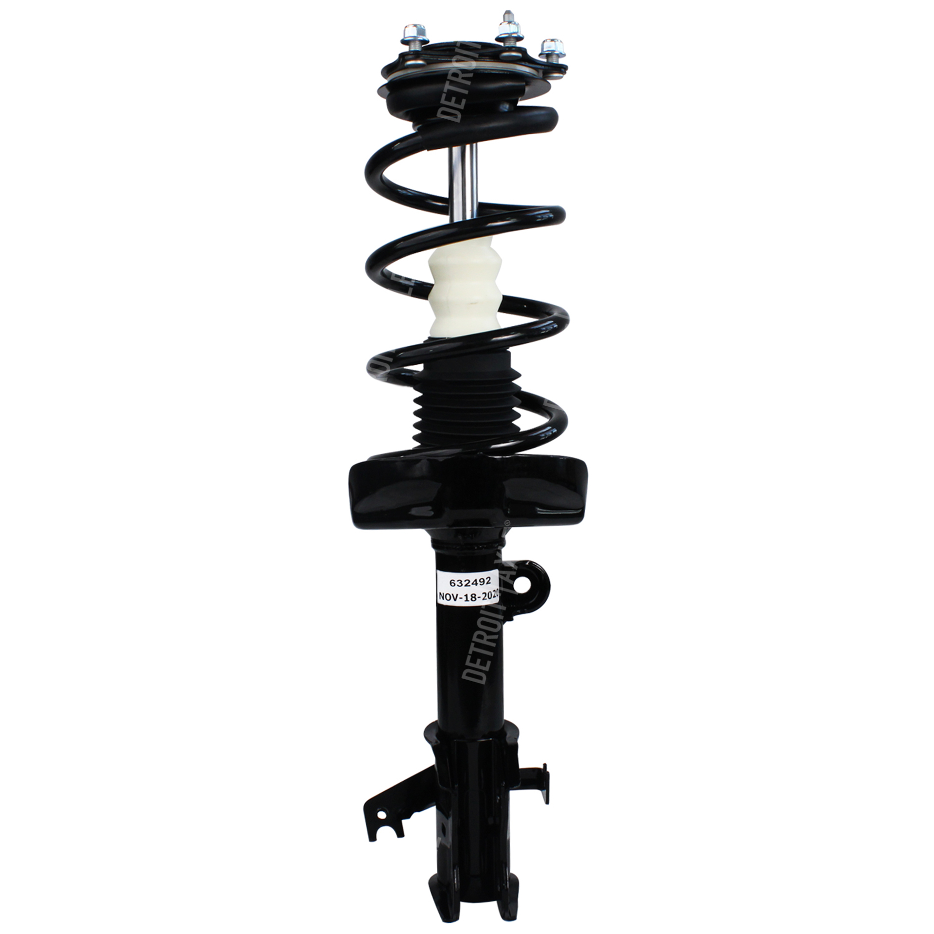 Front Driver Side Coil Spring and Ready Strut Assembly fits - Excluding Touring Models