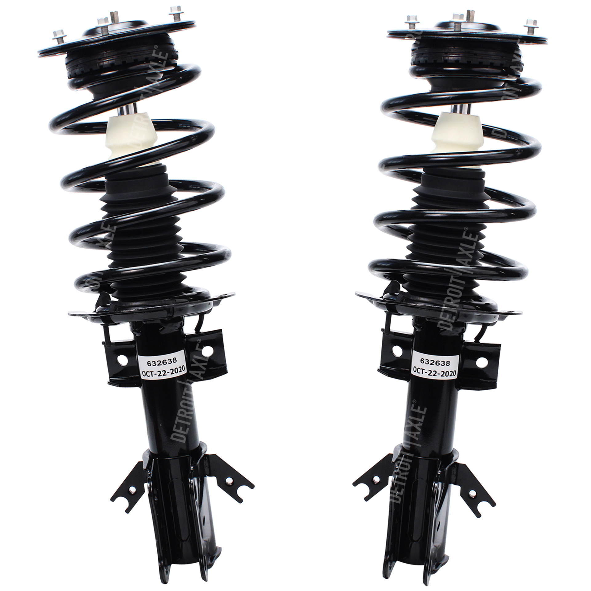 Pair (2) Front Ready Struts Assembly for 13-18 Ford Fusion FWD