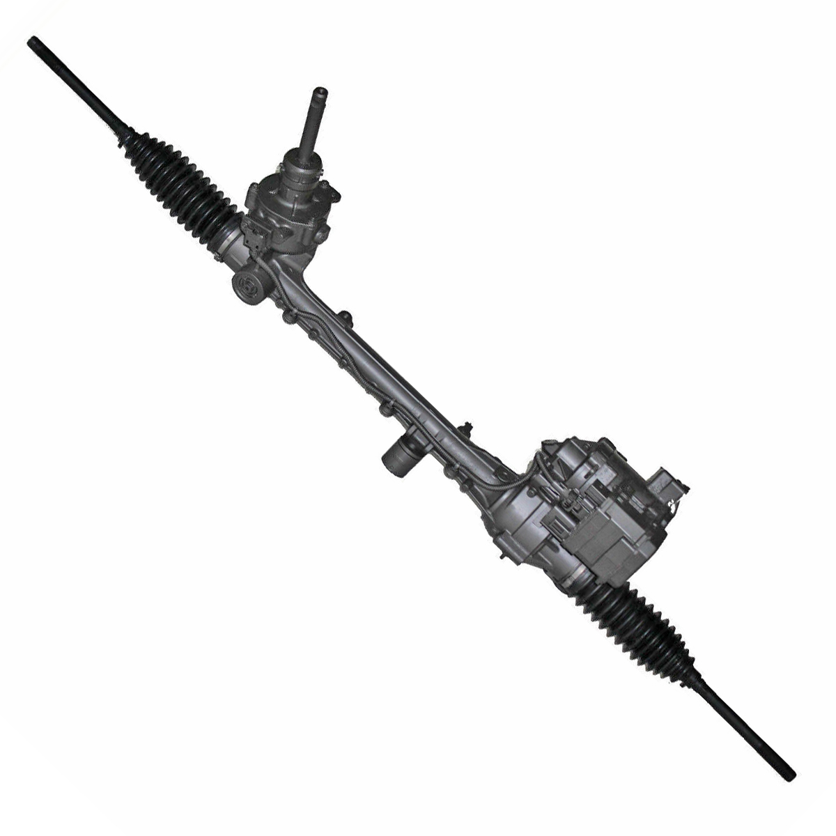 Complete Electronic Steering Rack and Pinion Assembly fits - 2012-2015 Ford Focus