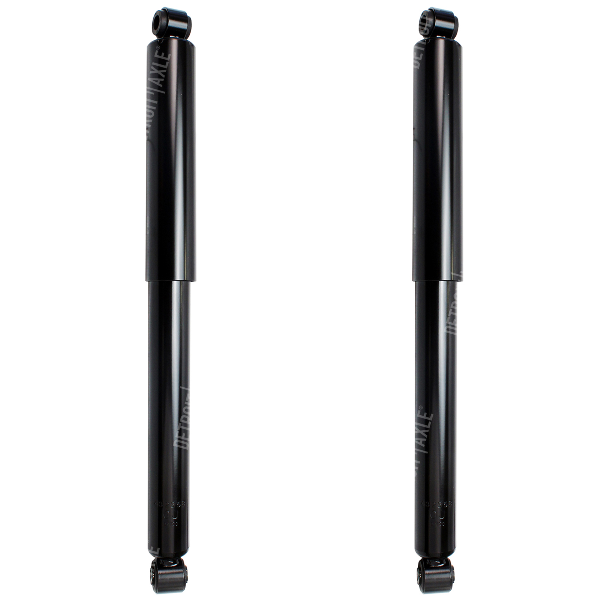 Pair 4x4 - Front Shock Absorber Set - Driver & Passenger Side - 1999-2004 F-250 SD - F-350 SD [4x4 Only]