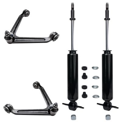 Front Shock Absorbers & Upper Control Arms w/Ball Joint   2WD 5LUG