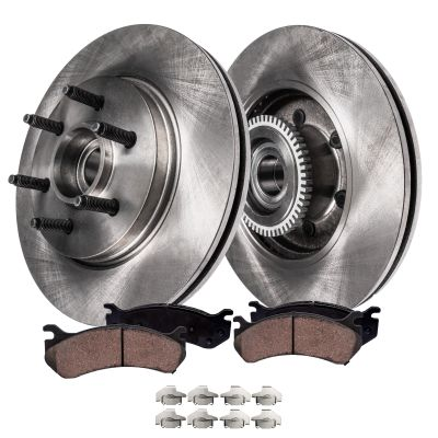 12.99'' Front Brake Rotors and Ceramic Brake Pad Kit - 2WD F-150 & Lincoln Mark LT