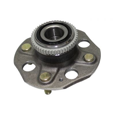Rear Wheel Hub and Bearing - Honda Accord - L4 2.2L, 4 Bolt, ABS w/ 4-wheel disc brakes #512020