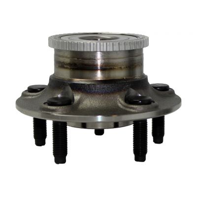 Rear Wheel Hub and Bearing - 4-Wheel ABS, FWD, Rear Drum - Driver or Passenger Side