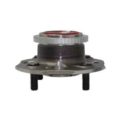 Rear Wheel Bearing and Hub - 4-Wheel ABS, with Rear Disc Brake, FWD - Driver or Passenger Side