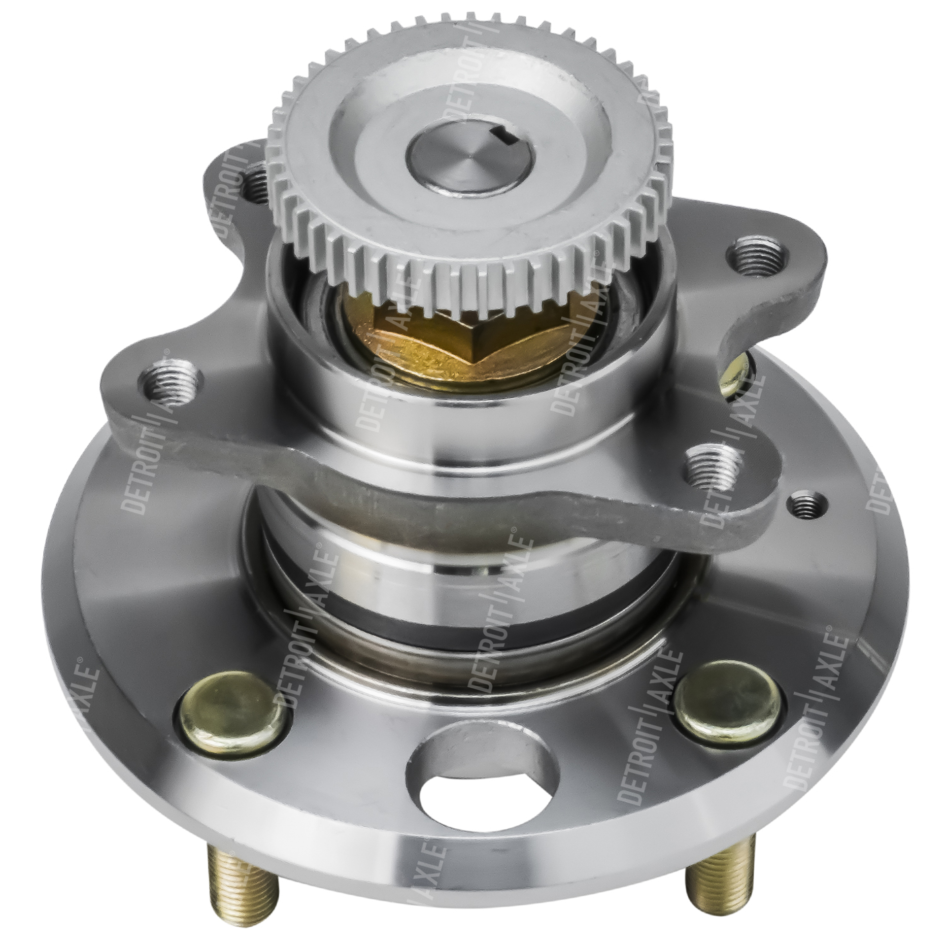 Rear Wheel Hub and Bearing Assembly - Driver or Passenger Side W/ABS