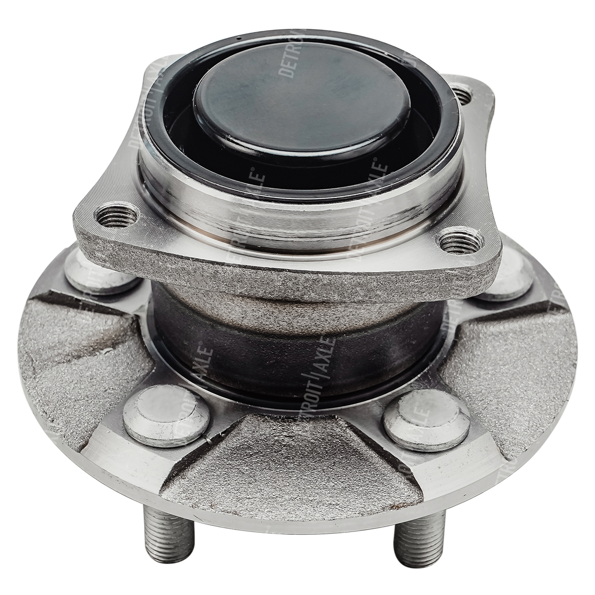 Rear Wheel Hub and Bearing Assembly - Driver or Passenger Side FWD ONLY & WITH NO ABS