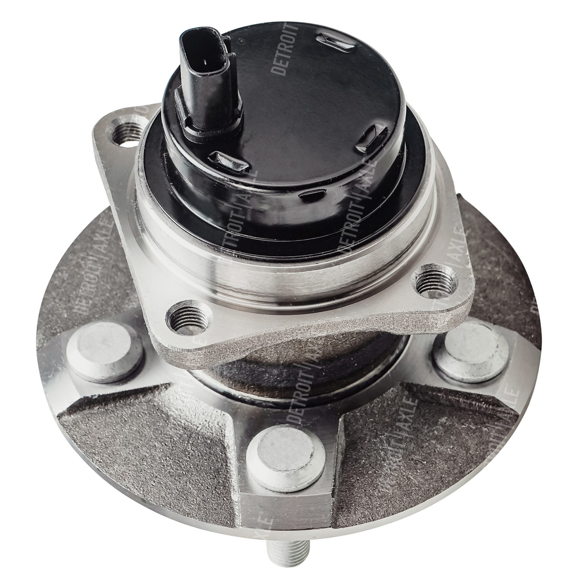 Rear Wheel Hub and Bearing Assembly - Driver or Passenger Side FWD ONLY & WITH ABS