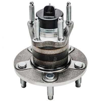 Rear Wheel Bearing and Hub - 4-Wheel ABS, FWD, 5 Stud - Driver or Passenger Side