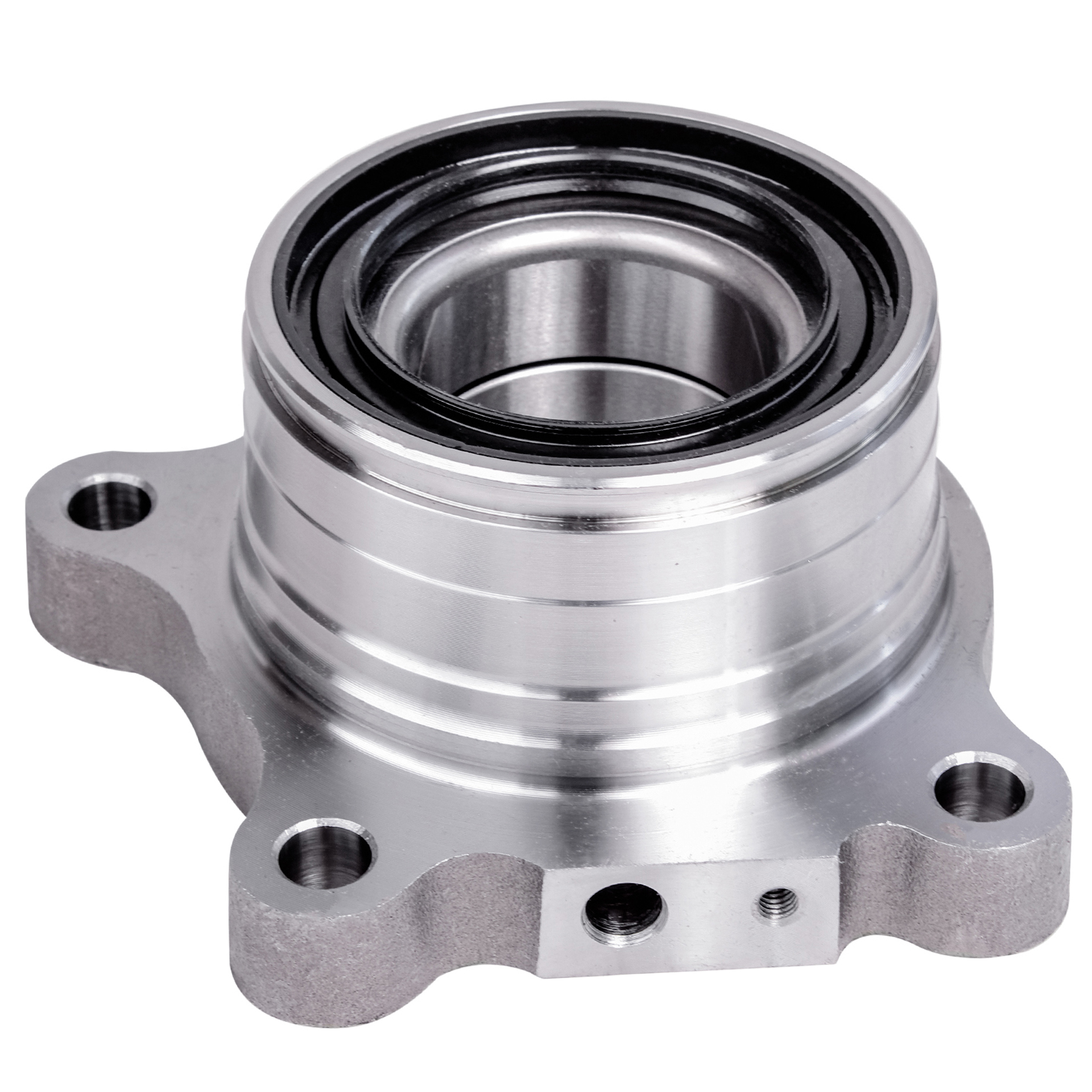 Rear Wheel Hub and Bearing Assembly - Driver Side