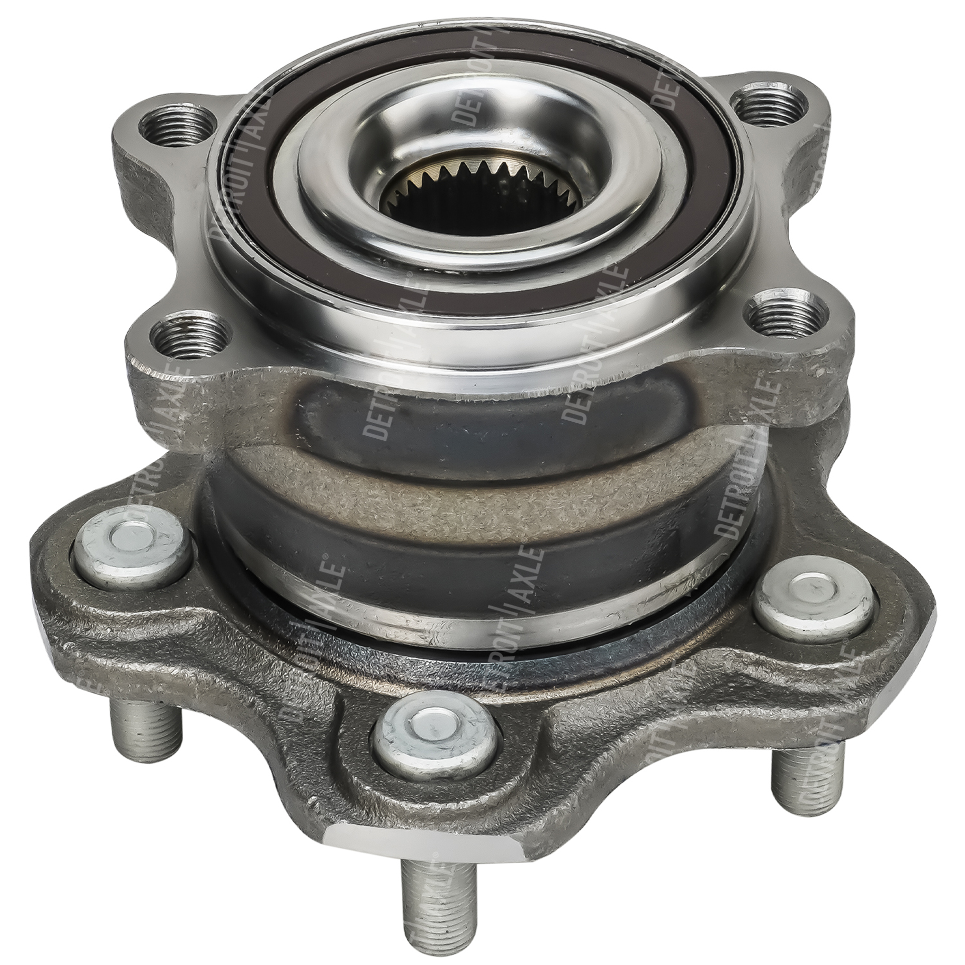 AWD Rear Wheel Hub & Bearing #512363 5 lug w/ABS Nissan Murano