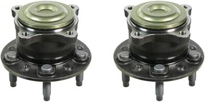 Rear Wheel Hub and Bearing - FWD - Driver and Passenger Side