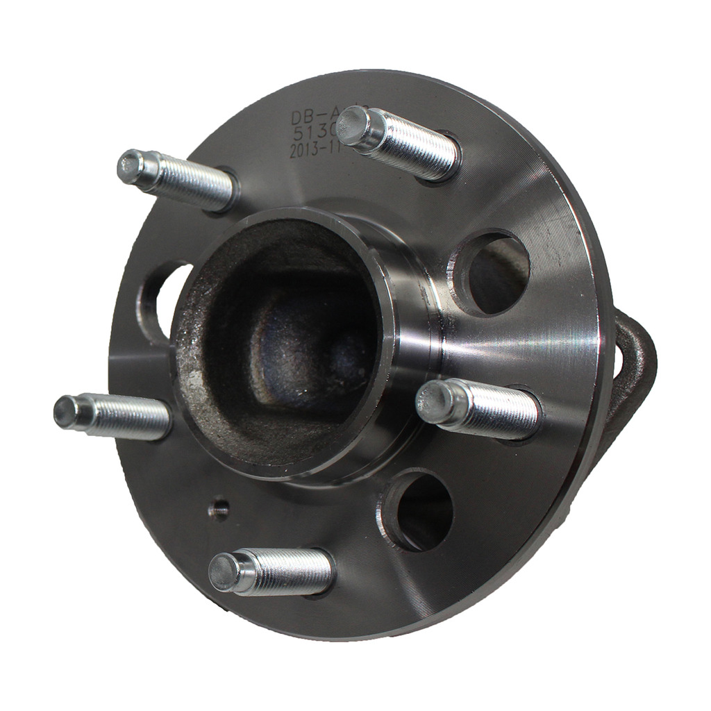 Rear Wheel Hub and Bearing Assembly - Driver or Passenger Side fits FWD Only - No ABS - Rectangular Flange