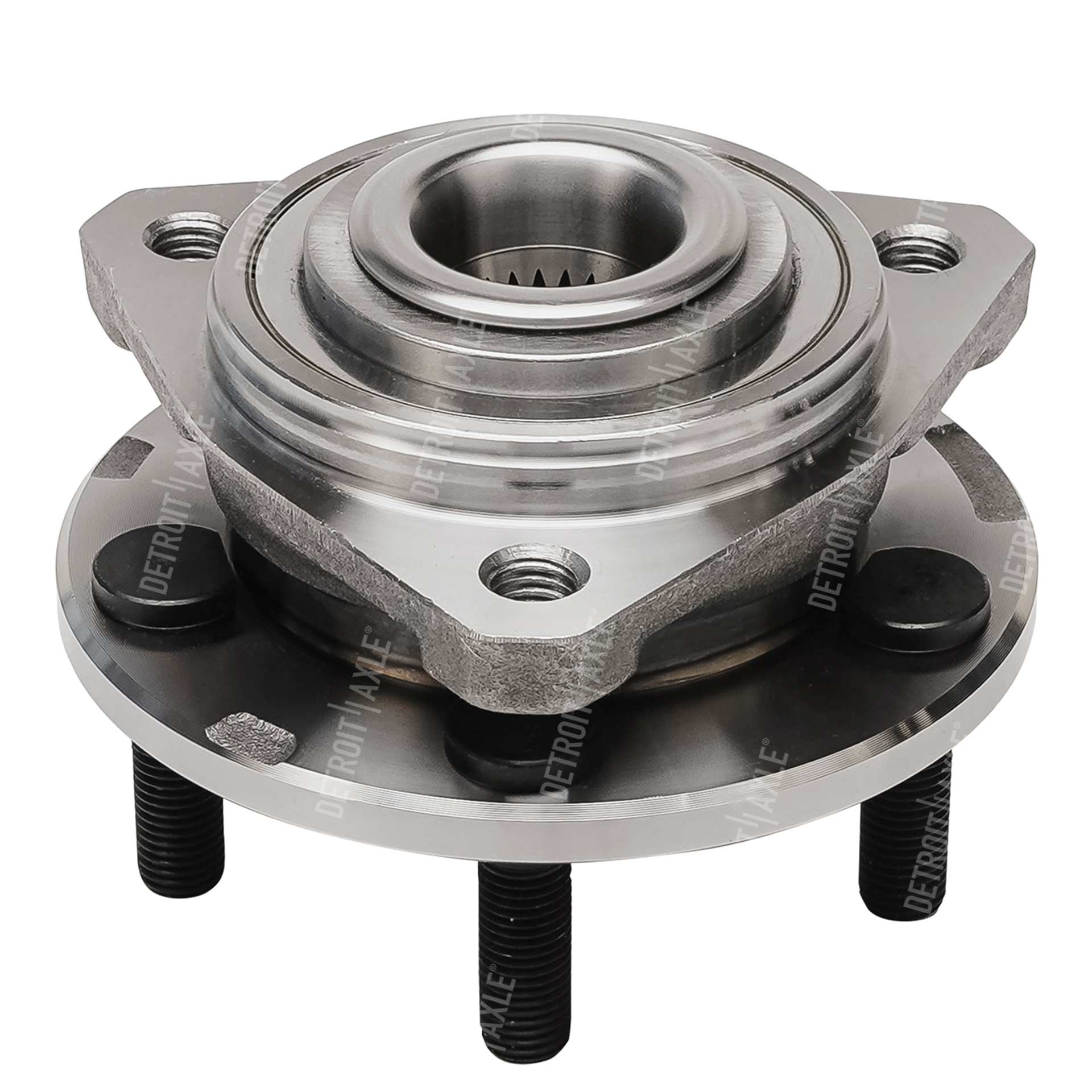 Front Wheel Hub and Bearing Assembly - Driver or Passenger Side-SEDAN &  CONVERTIBLE MODELS ONLY - Detroit Axle