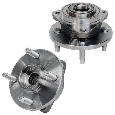 Front Wheel Hub Bearing - 2003-2010 Chevy Saturn Pontiac 4-Lug NO ABS