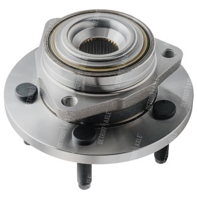 Front Wheel Bearing and Hub - 2-Wheel ABS - Driver or Passenger Side