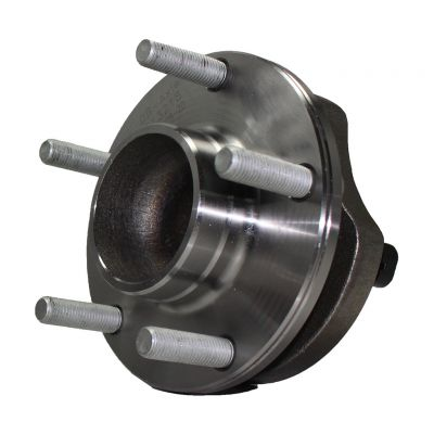 "Front Wheel Hub and Bearing Assembly, 15"" Wheel, Brg Flg Mtg Holes Non-Threaded; Drilled Mtg Holes"