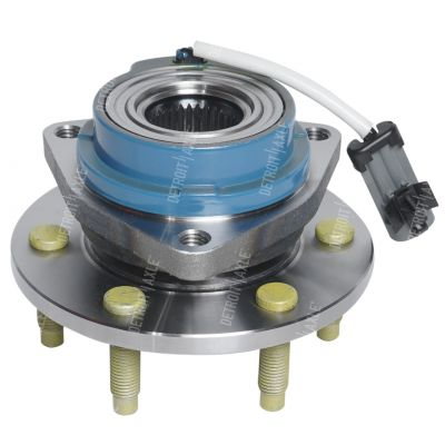 Front or Rear Wheel Bearing and Hub - 4-Wheel ABS - Driver or Passenger Side