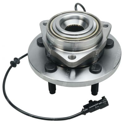 Front Wheel Bearing and Hub - Sport Utility, 4-Wheel ABS - Driver or Passenger Side