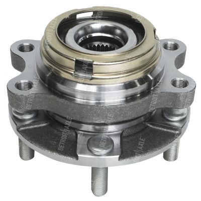Front Wheel Bearing and Hub - 4-Wheel ABS - Driver or Passenger Side