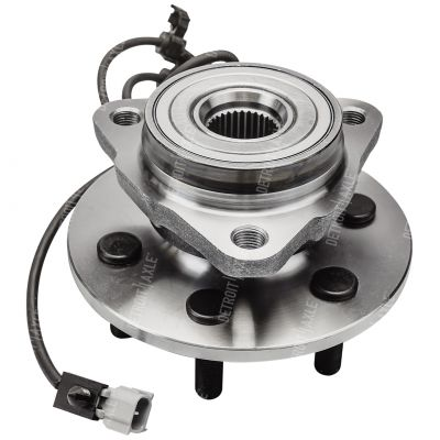 Front Wheel Bearing and Hub - 4-Wheel ABS, 4WD - Passenger Side