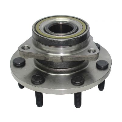 Front Wheel Hub and Bearing - 2-Wheel ABS, 4WD - Driver or Passenger Side