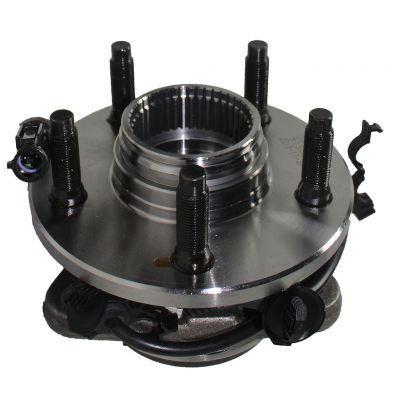 Front Wheel Hub and Bearing  LEFT OR RIGHT  Side fits 4x4 w/2-Wheel ABS AUTO LOCKING HUB