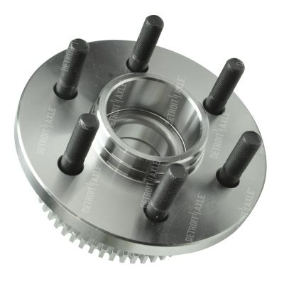 Front Wheel Bearing and Hub - 4-Wheel ABS, RWD - Driver or Passenger Side