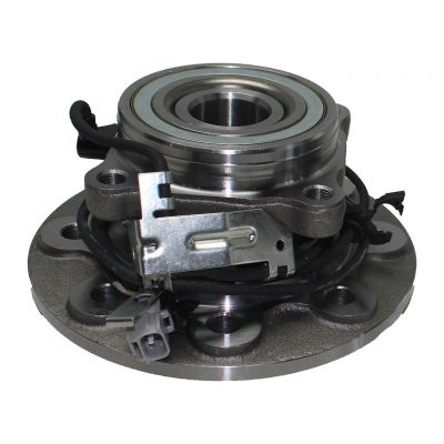 Front Wheel Hub and Bearing - Standard Cab Pickup, 4-Wheel ABS, 4WD, SRW - Driver or Passenger Side