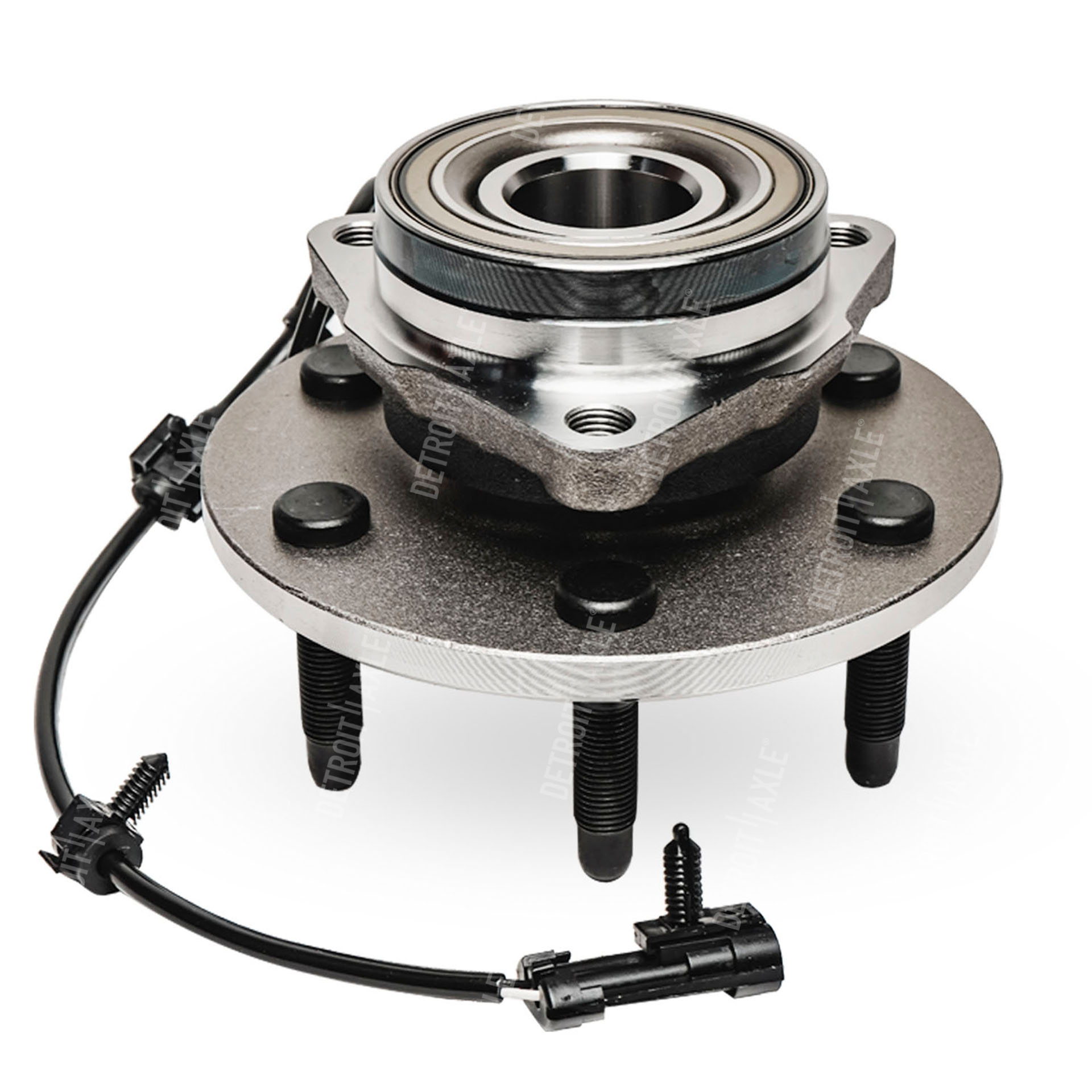 4x4 Front Axle Assembly : Front wheel hub and bearing assembly for chevrolet gmc
