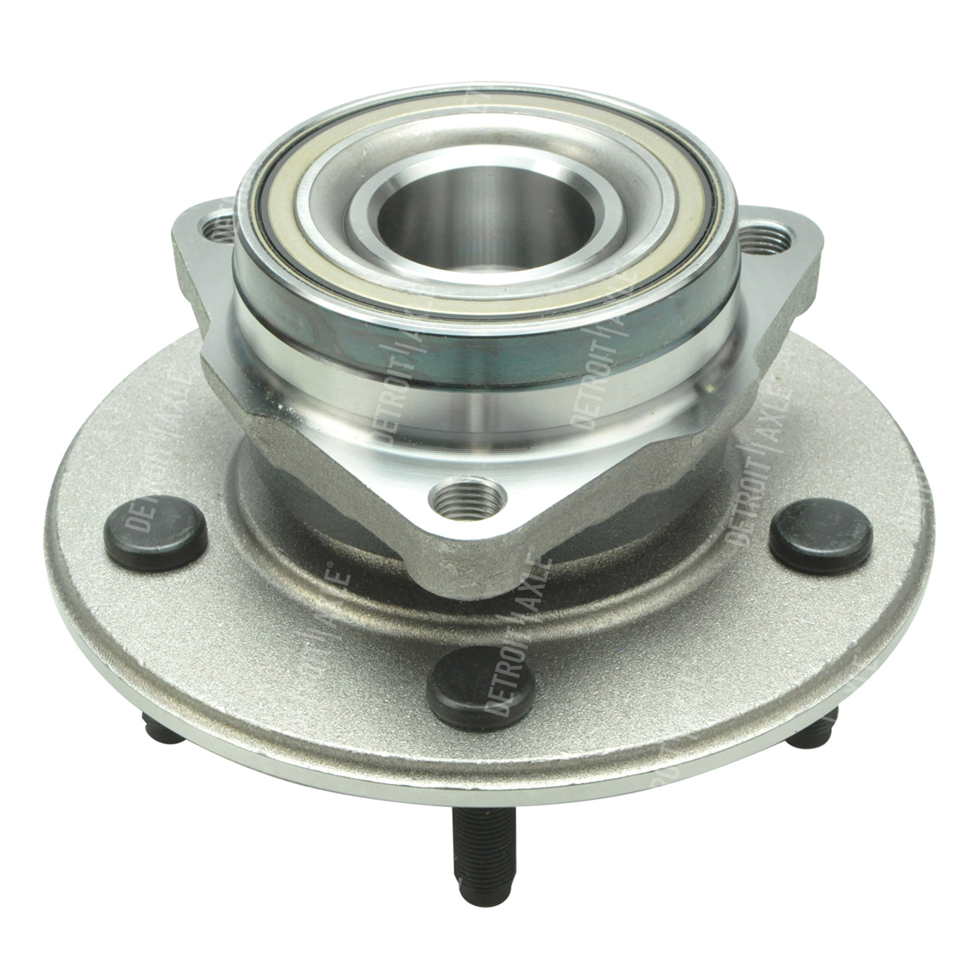 Front Wheel Hub and Bearing Assembly - 4x4 w/2-Wheel ABS - Fits Driver or Passenger Side