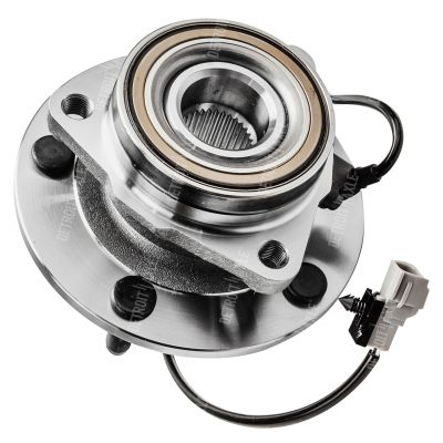 Front Wheel Hub and Bearing - 4-Wheel ABS, 4WD - Driver Side
