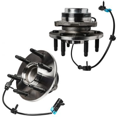 2WD Front Wheel Bearing and Hub Assembly for Sierra, Silverado 6-Lug w/ABS