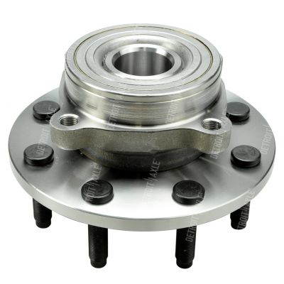 Front Wheel Hub and Bearing- 8 lug 4WD REAR WHEEL ABS ONLY