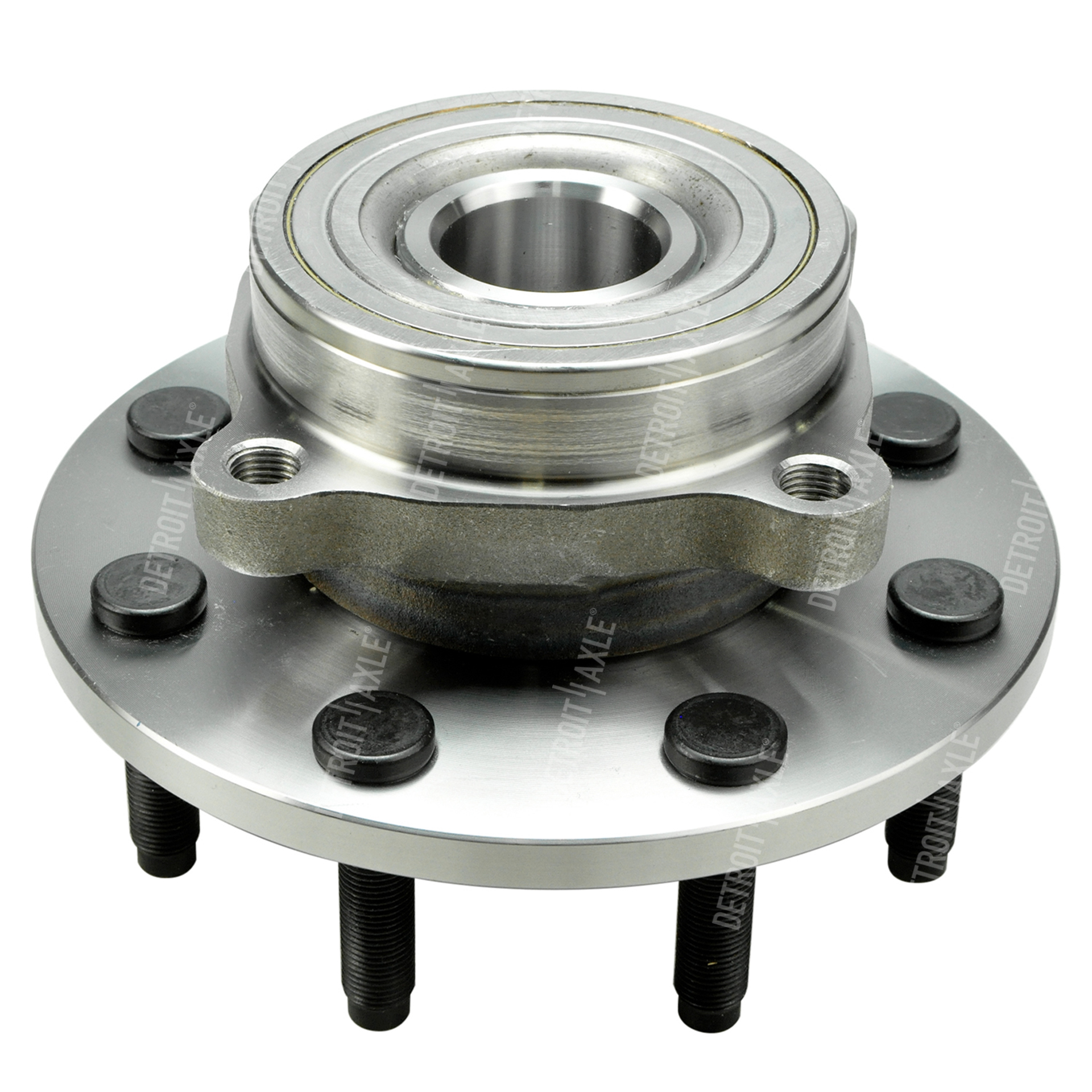 4x4 Front Axle Assembly : Front wheel hub and bearing assembly driver or passenger