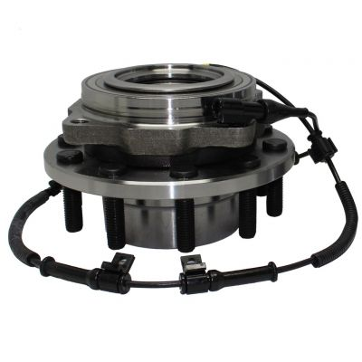 Front Wheel Hub Bearing- 4WD, DRW, 4-Wheel ABS-Sensor Wire, #515083