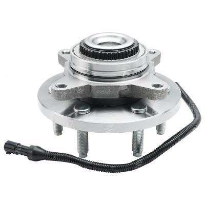 Front Wheel Bearing and Hub - Sport Utility, 4-Wheel ABS, 4WD - Driver or Passenger Side