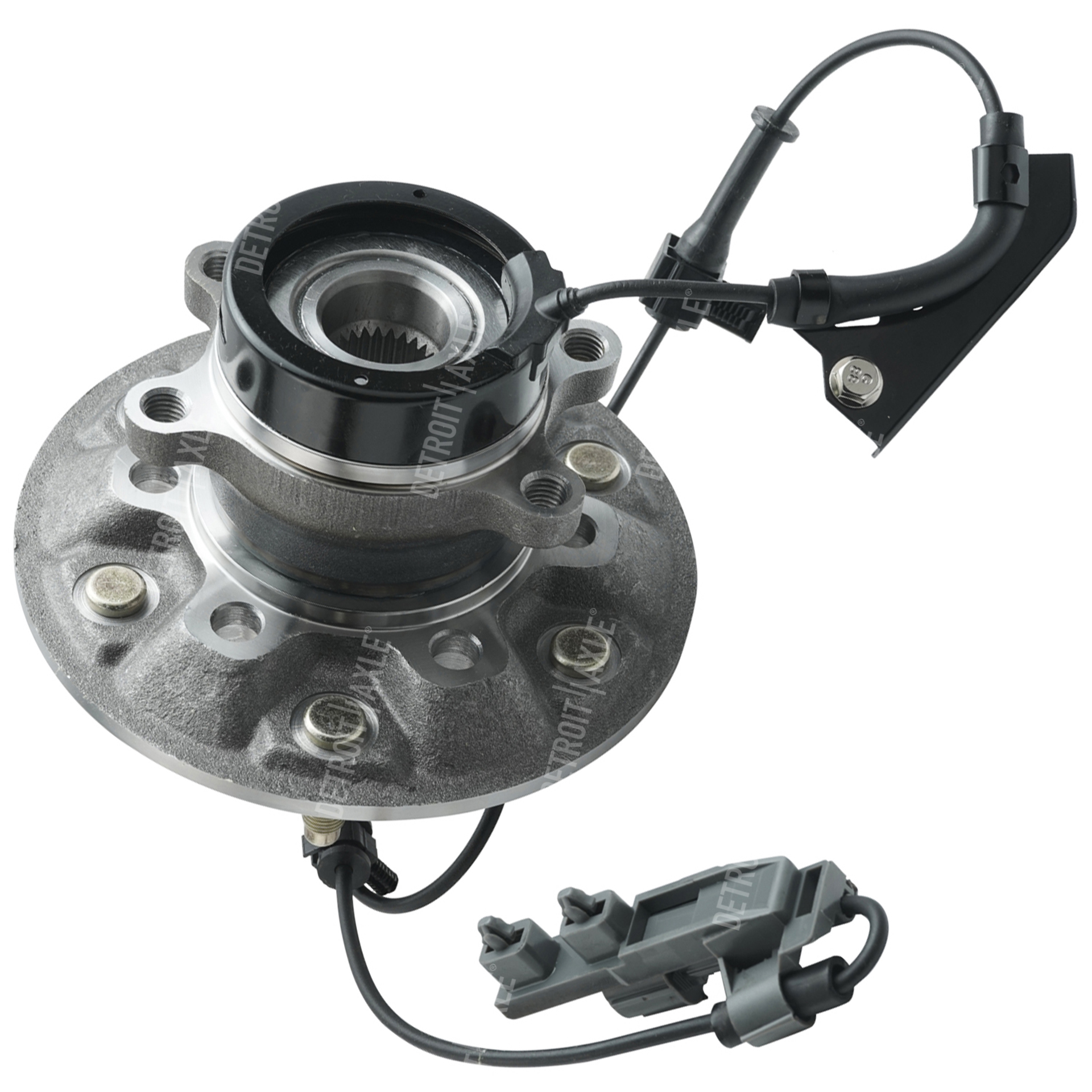 4x4 Front Axle Assembly : Front wheel hub and bearing assembly driver side fits