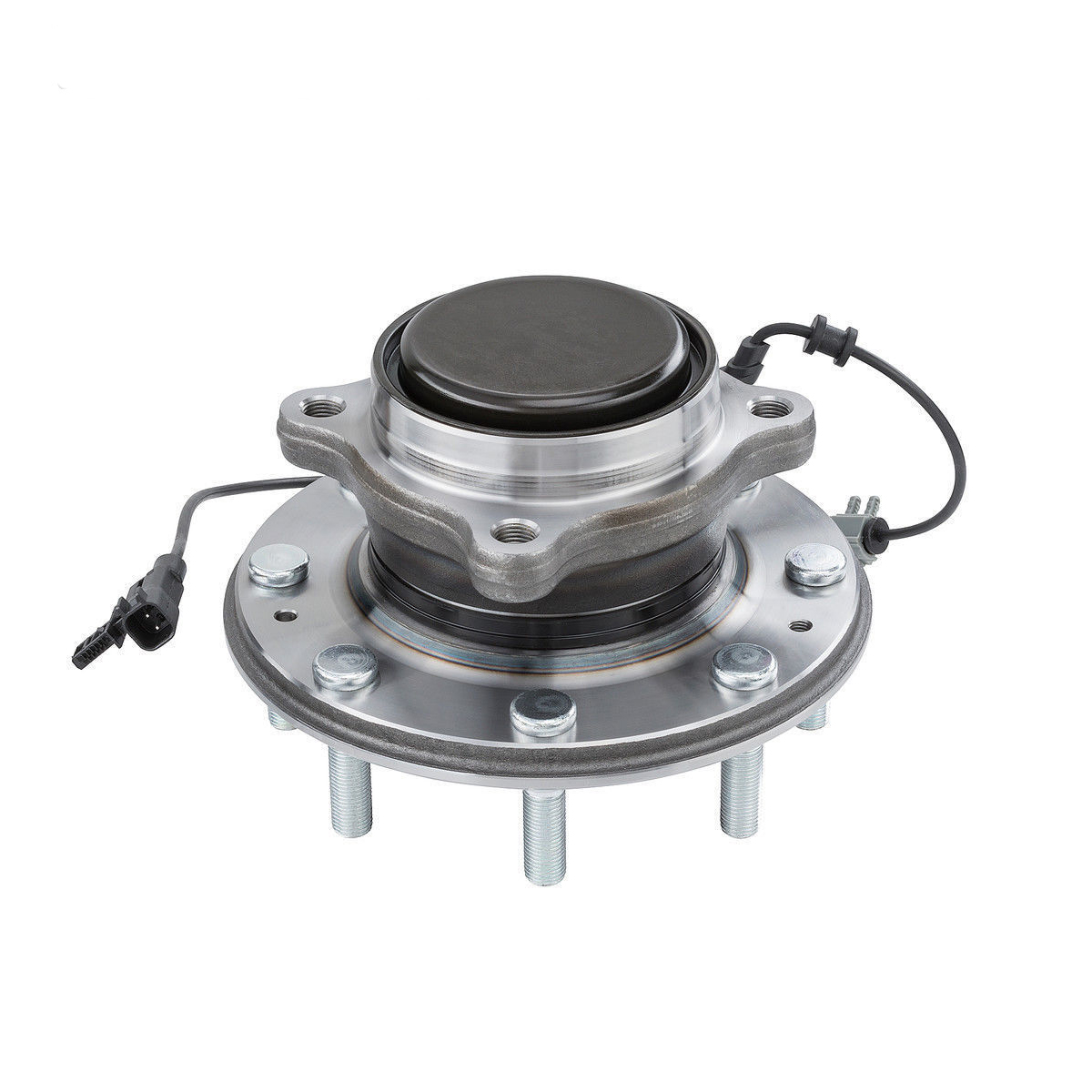 Front Wheel Hub and Bearing Assembly - Driver or Passenger Side - 2WD w/Single Rear Wheels Only