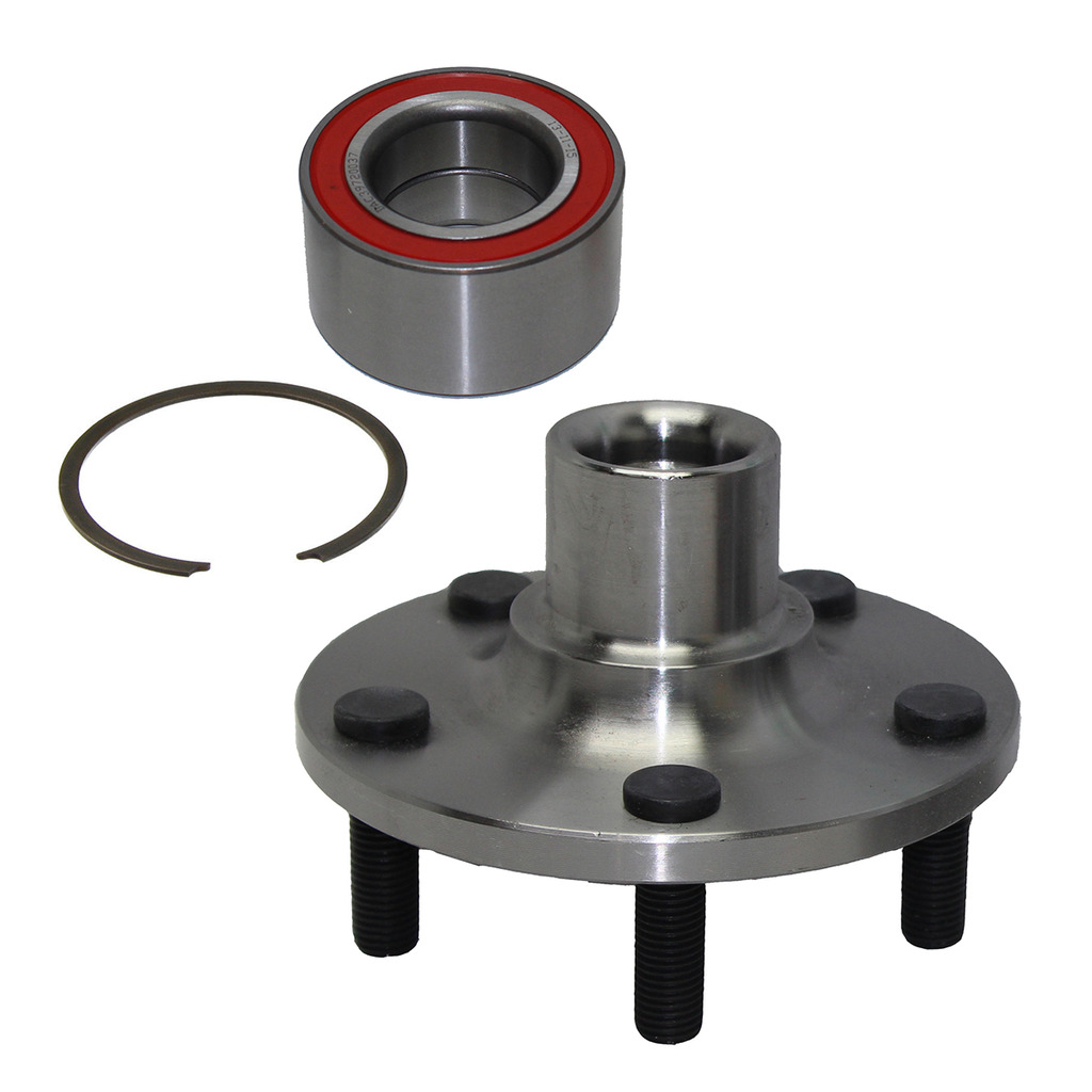 Rear Wheel Hub and Bearing Assembly - Driver or Passenger Side- 5 lug