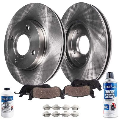Front Brake Rotors and Ceramic Pads for Hyundai, Kia Models - See Fitment