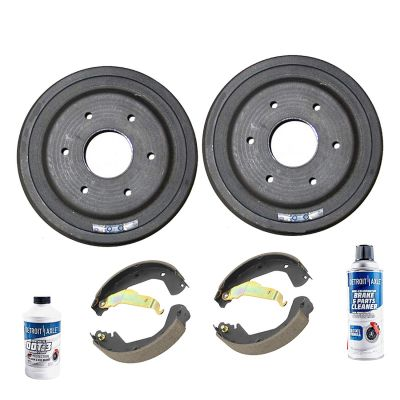 Rear Brake Drum + Brake Shoe|09-13 Chevy Silverado 1500, GMC Sierra 1500