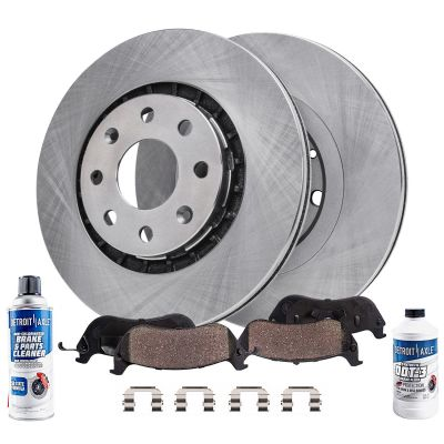 Front Brake Rotors + Ceramic Pads for 2004 - 2011 Chevy Aveo