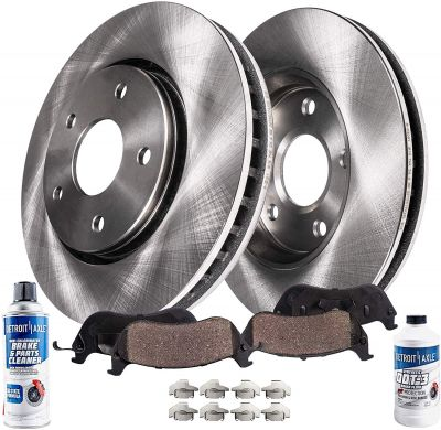 Front Disc Brake Rotor + Ceramic Pad | 01 - 07 Chrysler Dodge Models