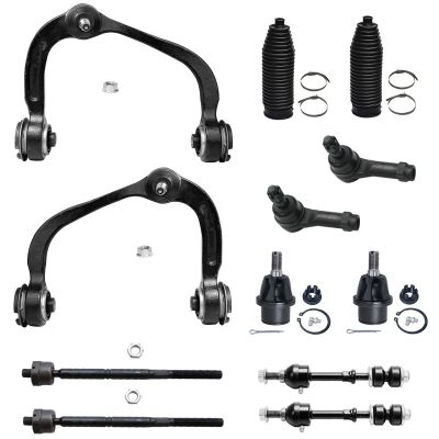 Suspension Kit - 2WD Only - Front, Control Arms, Tie Rods, Ball Joints, Sway Bars