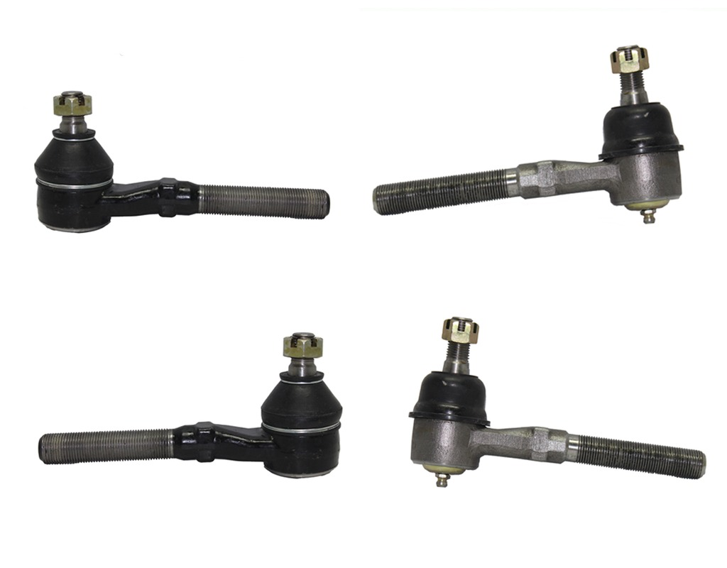 4-Piece 4x4 Only Front Tie Rod Kit Includes Inner and Outer Tie Rod Ends fits