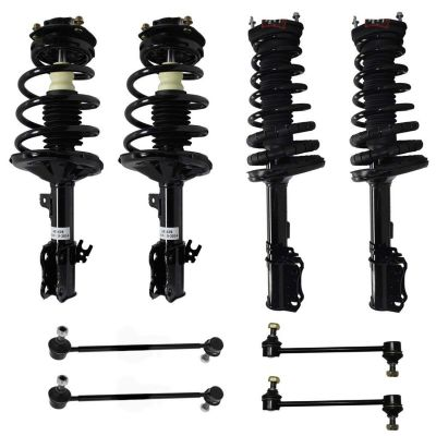 8pc Front Rear Struts & Sway Bars for Toyota Lexus Models