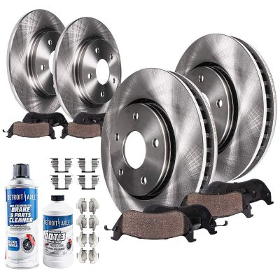 12.01'' Front + 11.85'' Rear Disc Brake Rotors + Pads | Ford Mercury Models