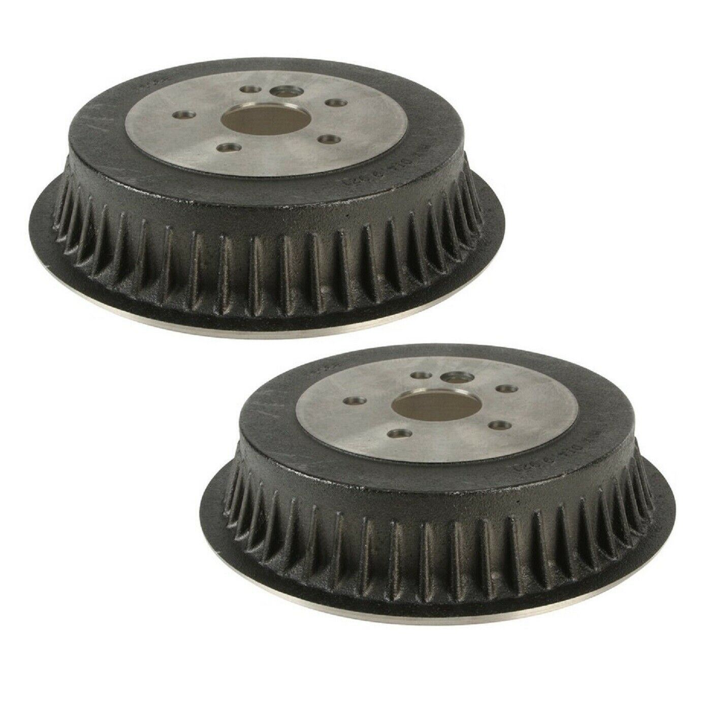 Pair (2) Rear Brake Drums for 1998-2003 Toyota Sienna