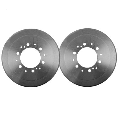 Pair (2) 6-Lug Premium REAR Brake Drum